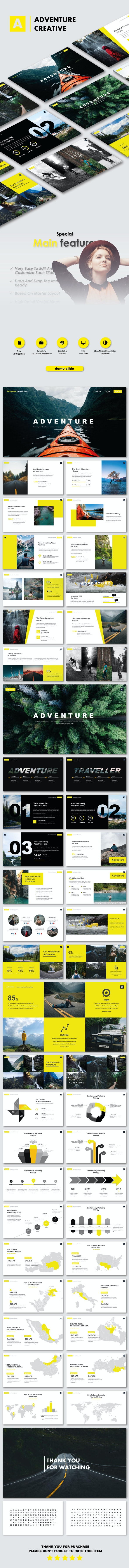 Adventure Creative PowerPoint Templates - Nature PowerPoint Templates