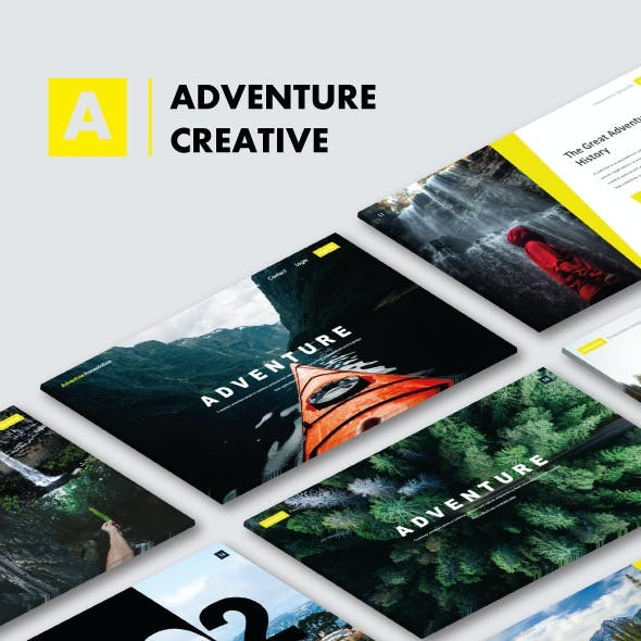 Adventure Creative Keynote Templates
