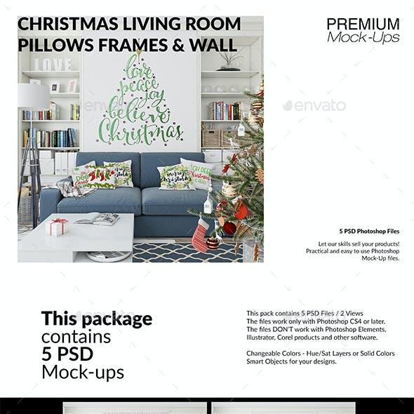 Christmas Living Room Set