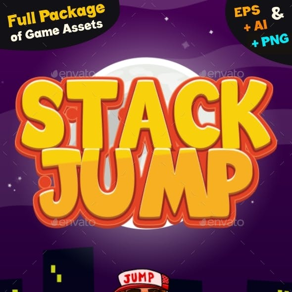 Game Assets for Stack Jump