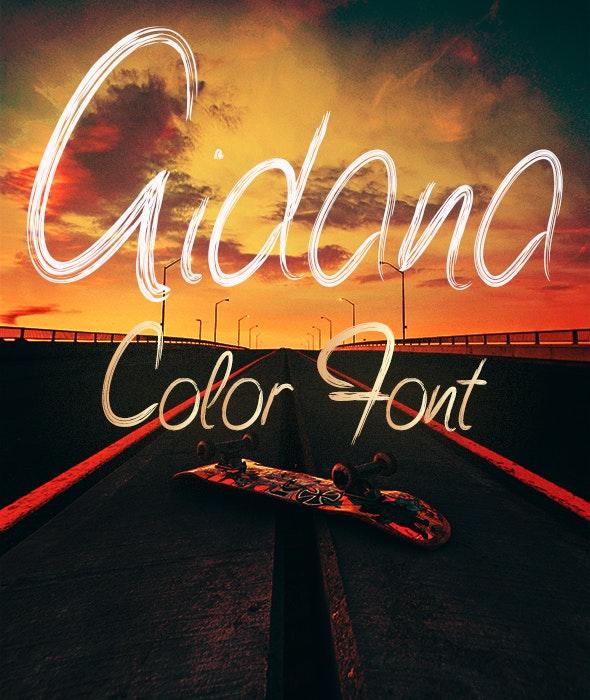 Aidana - Decorative Fonts