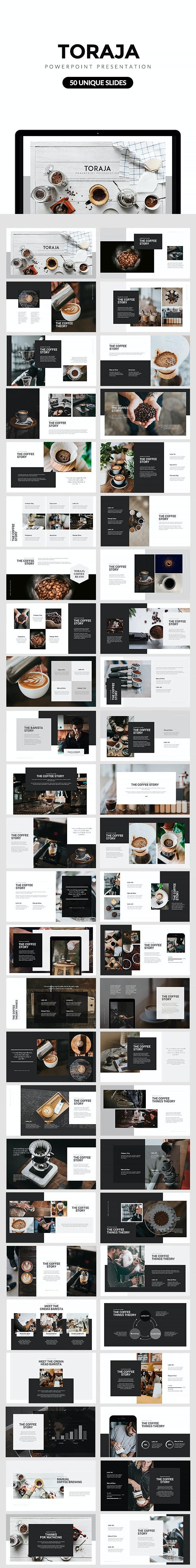 Toraja Powerpoint Template - Creative PowerPoint Templates