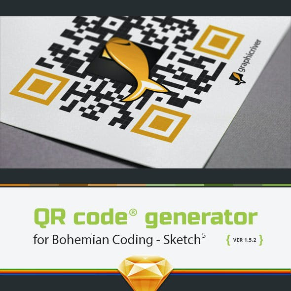 QR Code Generator for Sketch