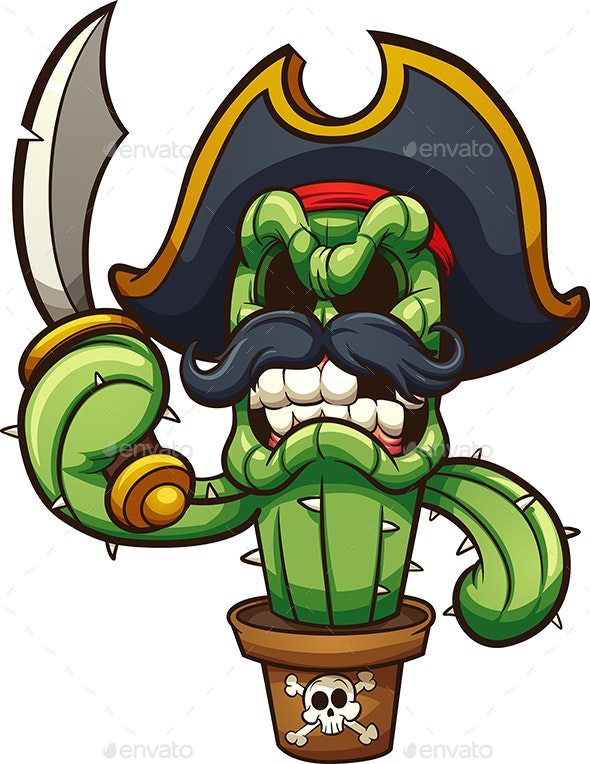 Pirate Cactus - Miscellaneous Characters