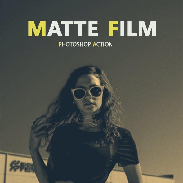 Matte Film Photoshop Action