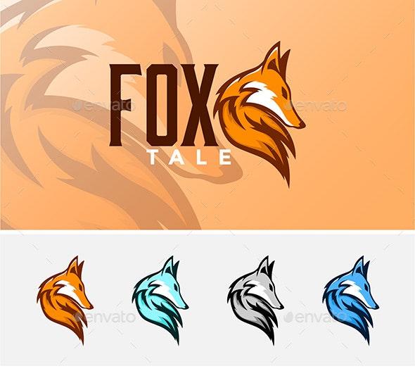 Fox Tale - Animals Logo Templates