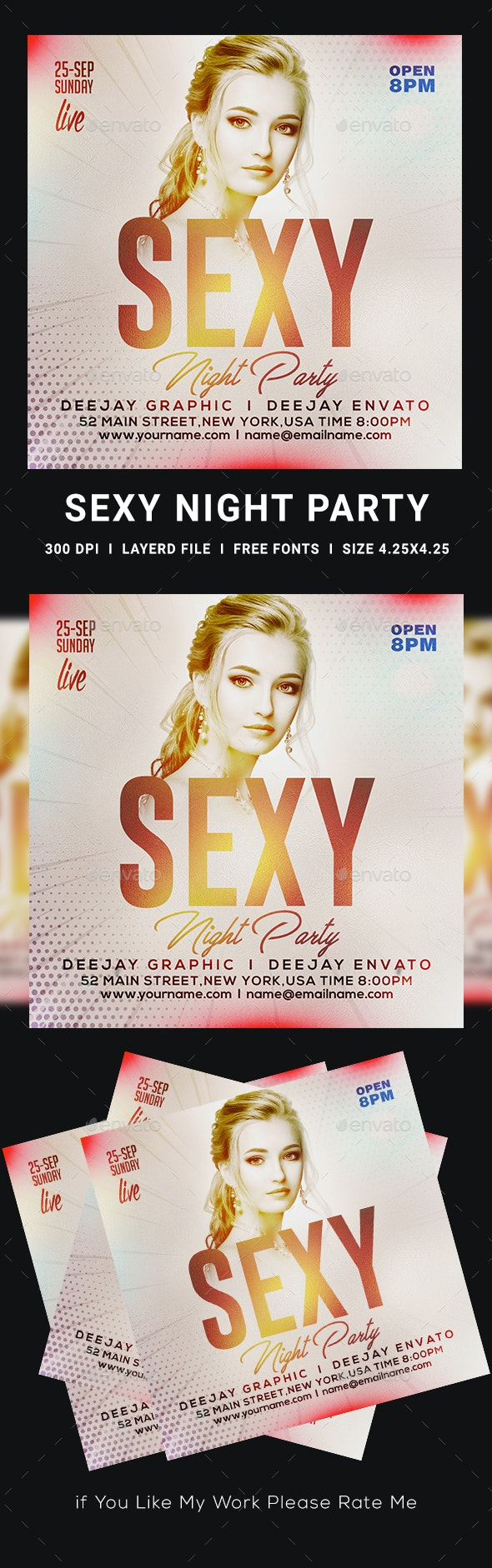 Sexy Flyer - Clubs & Parties Events