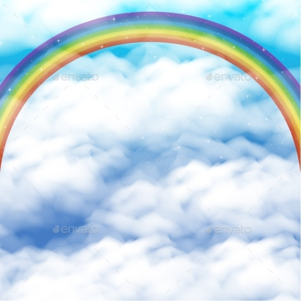 Sky with Rainbow - Landscapes Nature