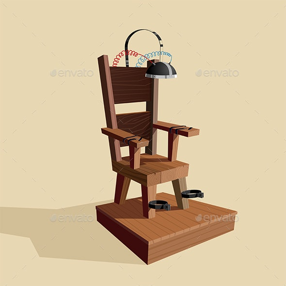 Electric Chair - Man-made Objects Objects
