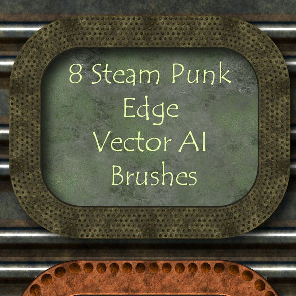 8 Steam Punk Brushes