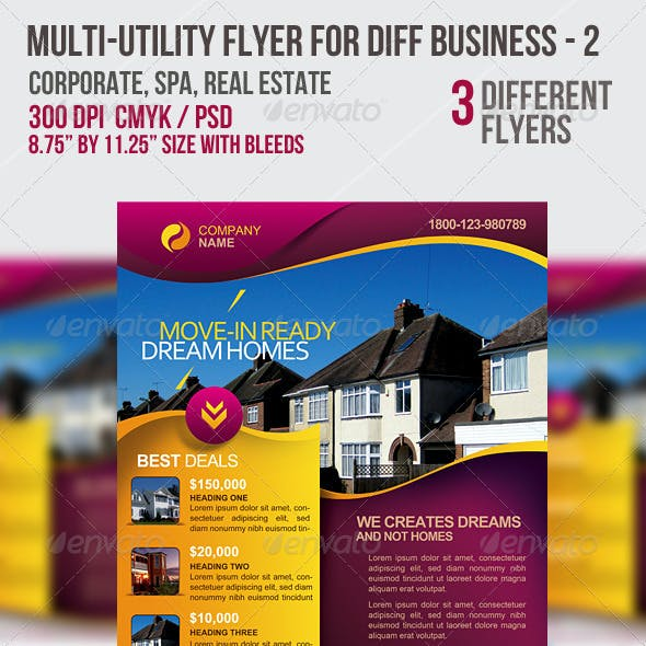 Multi-utility Flyer For Different Business - 2