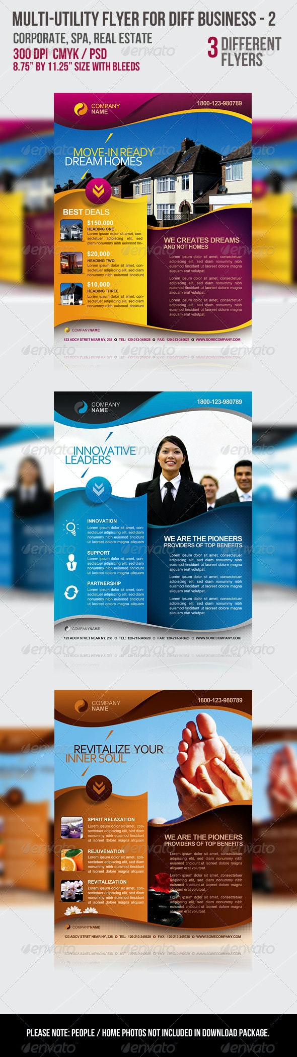 Multi-utility Flyer For Different Business - 2 - Flyers Print Templates