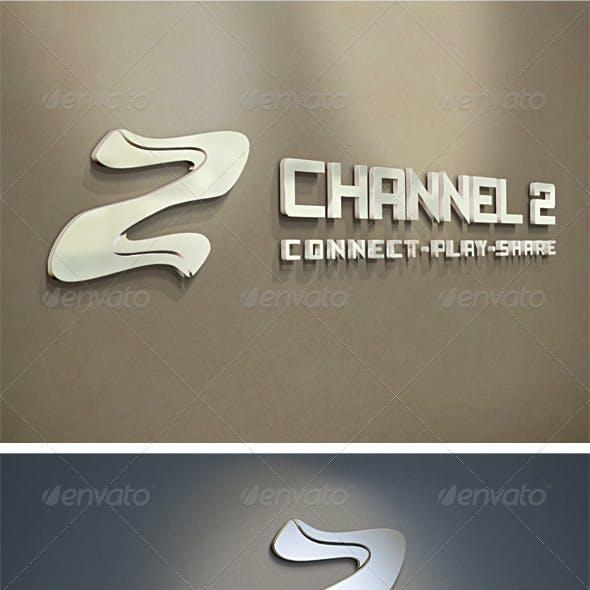 3D Z & 2 Logo Template