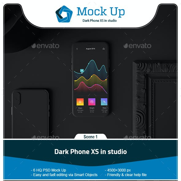 Dark Phone XS in Studio