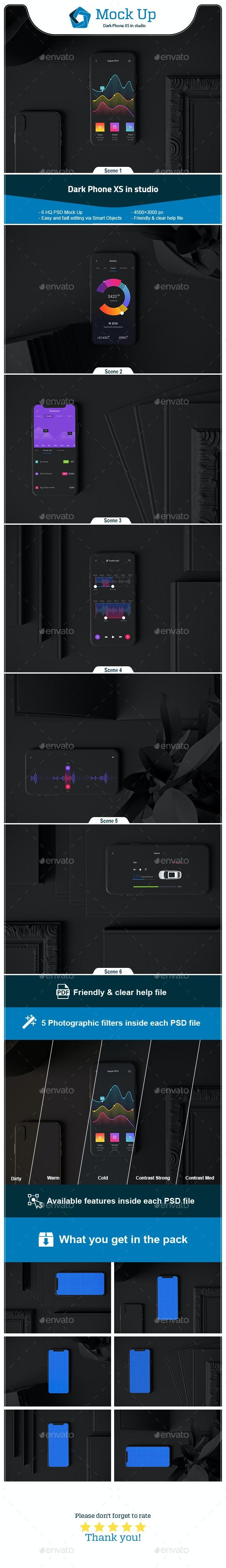 Dark Phone XS in Studio - Mobile Displays