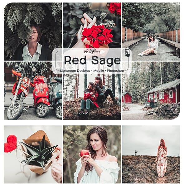 Red Sage Lightroom Desktop and Mobile Preset
