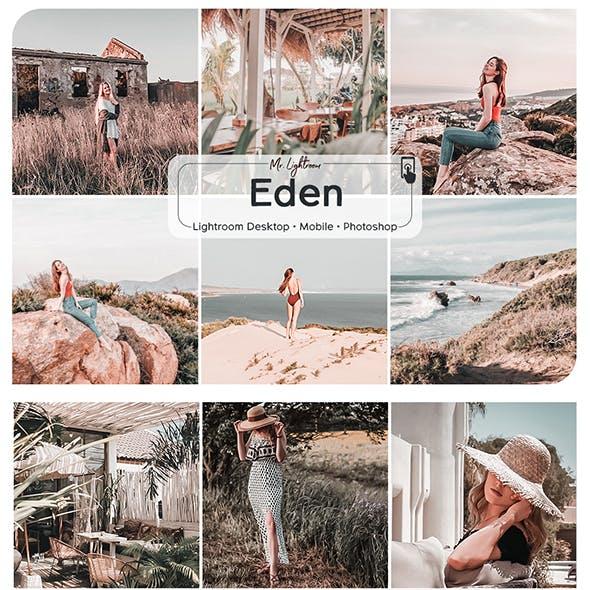 Eden Lightroom Desktop and Mobile Presets