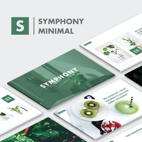 Symphony MNML Keynote Templates