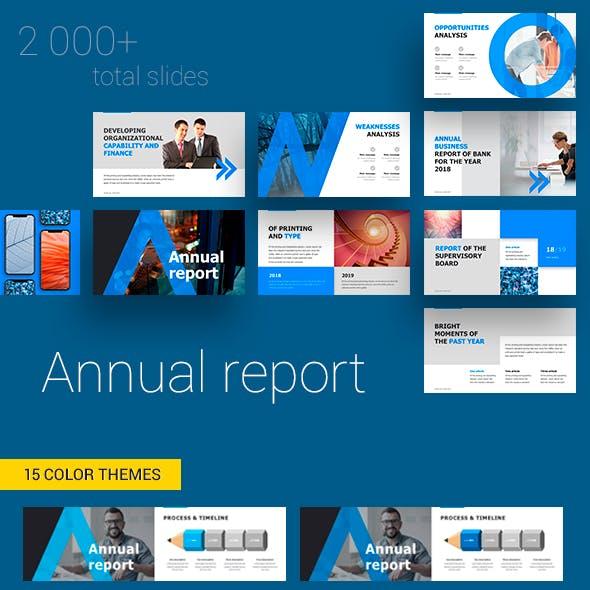Annual Report Google Slides