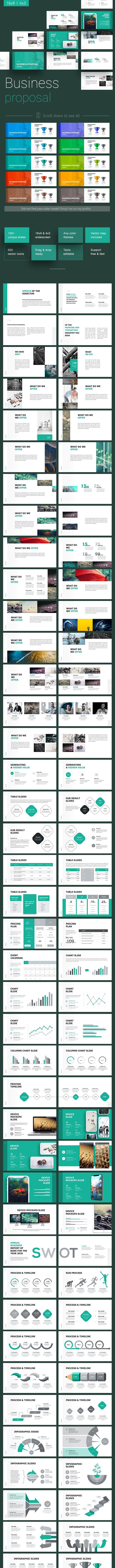 Business Proposal Google Slides Template - Google Slides Presentation Templates