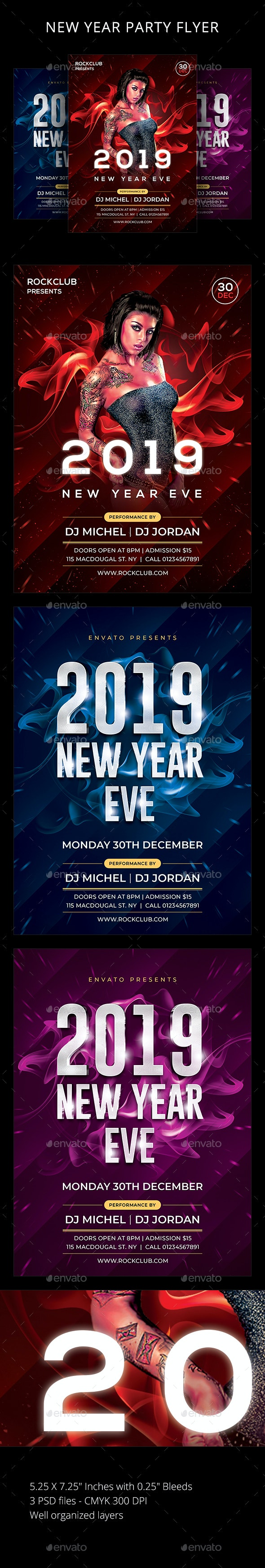 New Year - Clubs & Parties Events