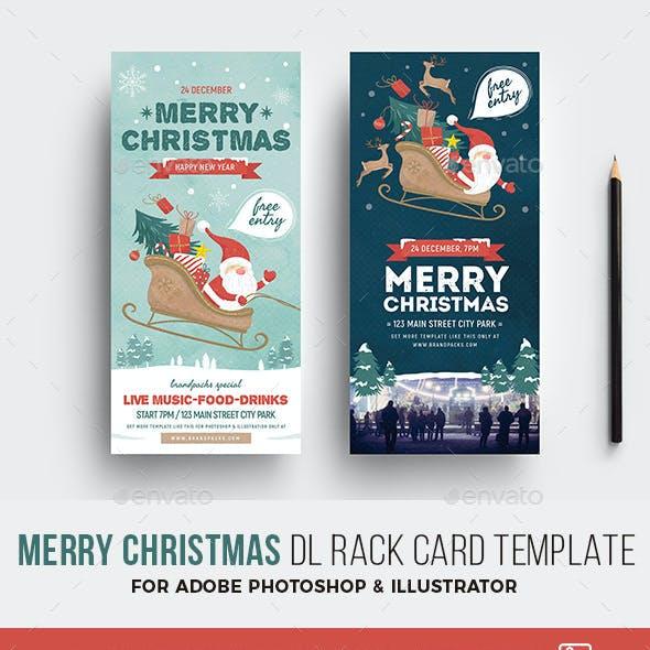 Christmas DL Flyer / Rack Card