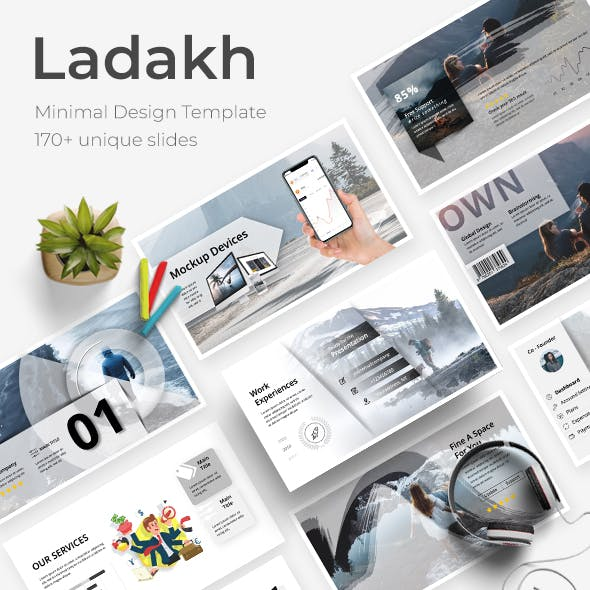 Ladakh Creative Powerpoint Template