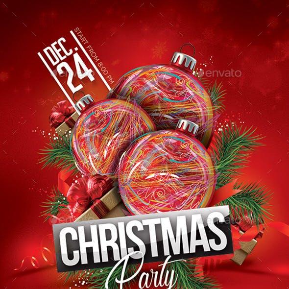 Xmas Party Christmas Flyer