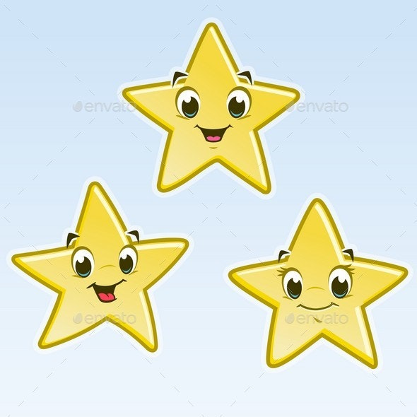 Cartoon Little Stars - Miscellaneous Characters