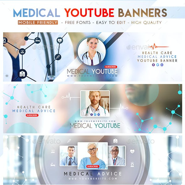 Medical YouTube Banners