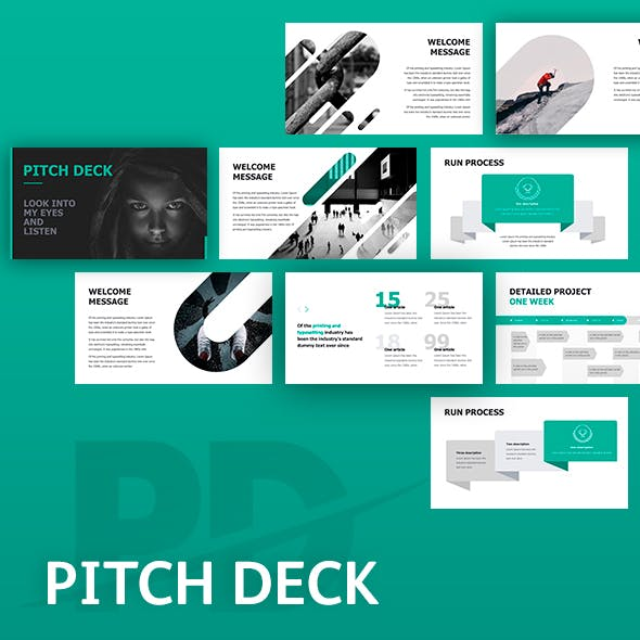 Pitch Deck Corporate Google Slides Template