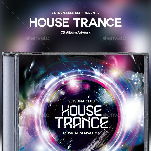 House Trance CD Album Artwork