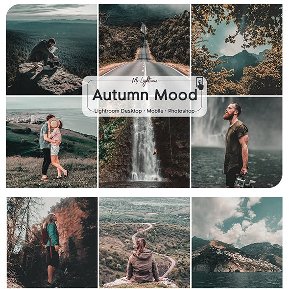 Autumn Mood Lightroom Desktop and Mobile Presets