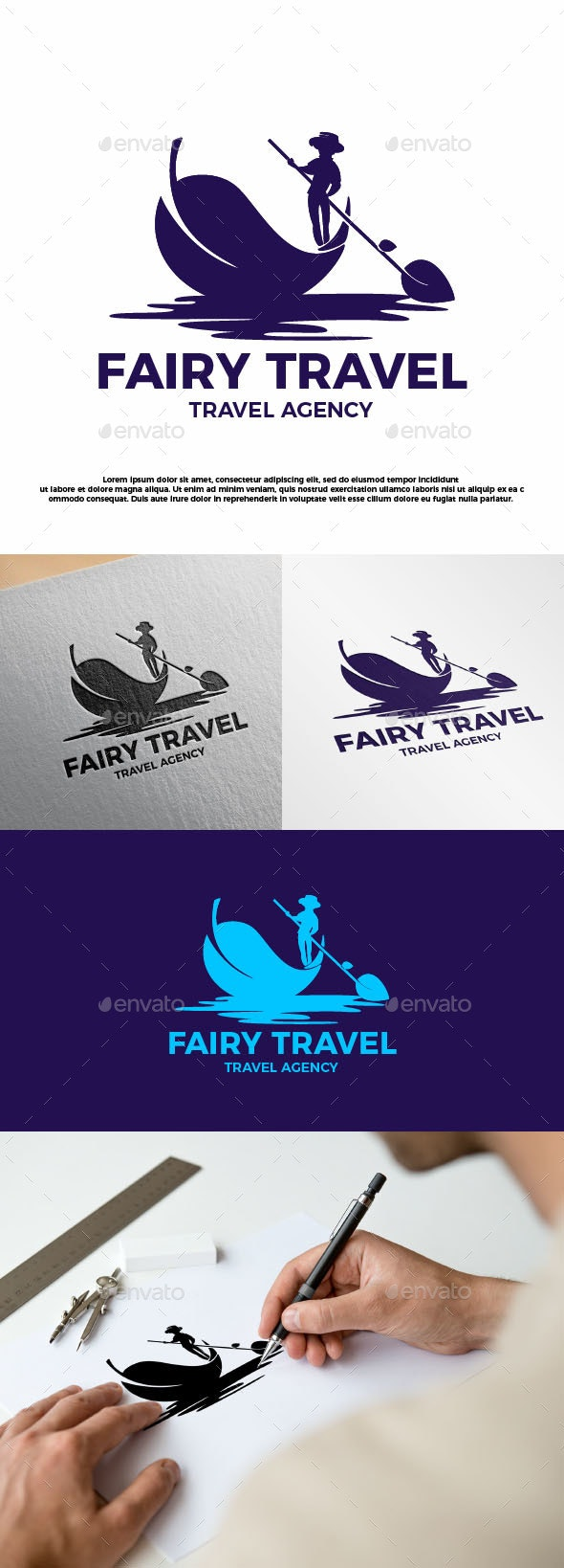 Fairy Travel - Company Logo Templates