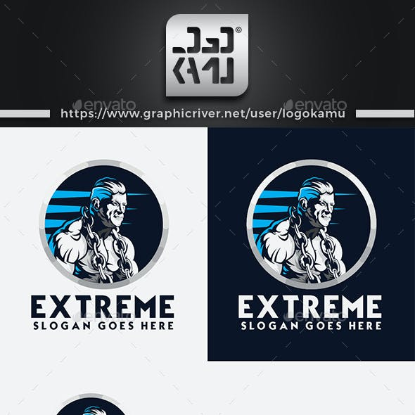 Extreme Gym Logo