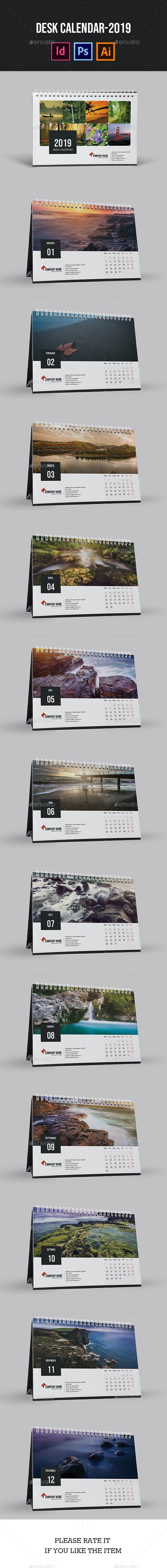 Desk Calendar for 2019 | Updated - Calendars Stationery