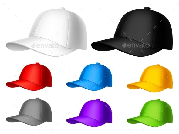 Color Baseball Cap - Man-made Objects Objects