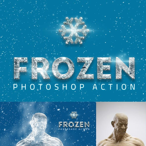 Frozen Ice Photoshop Actions