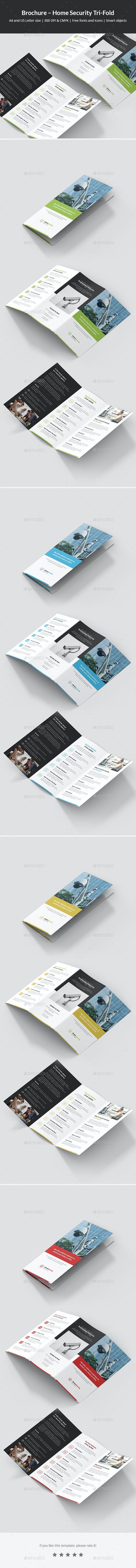 Brochure – Home Security Tri-Fold - Corporate Brochures