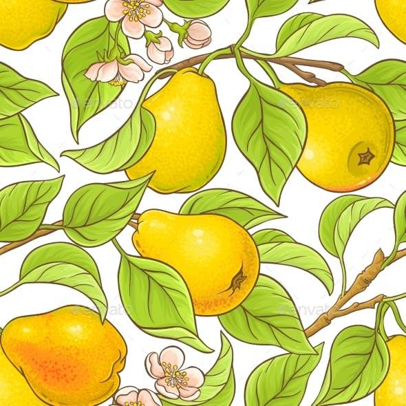 Pear Vector Pattern