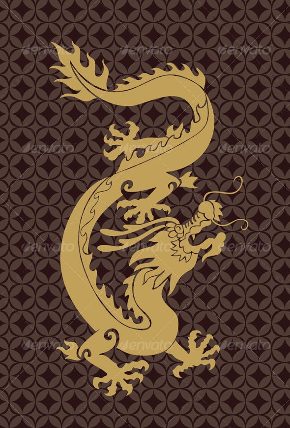 chinese dragon - Animals Characters