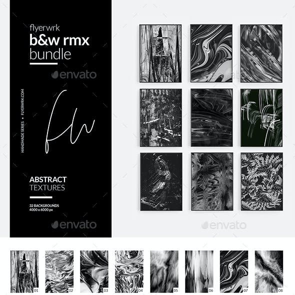 B&W rmx - 32 Abstract Textures