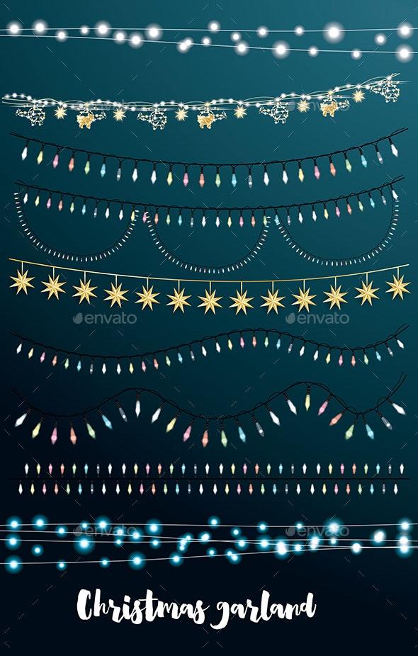 Christmas String Lights Set - Christmas Seasons/Holidays