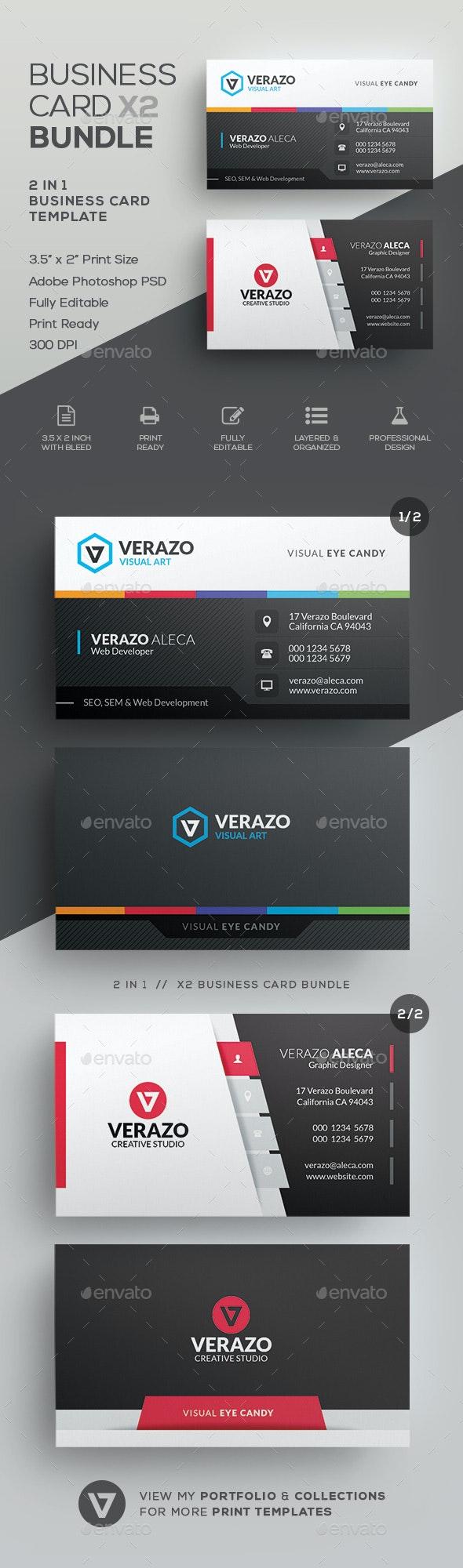 Business Card Bundle 56 - Corporate Business Cards