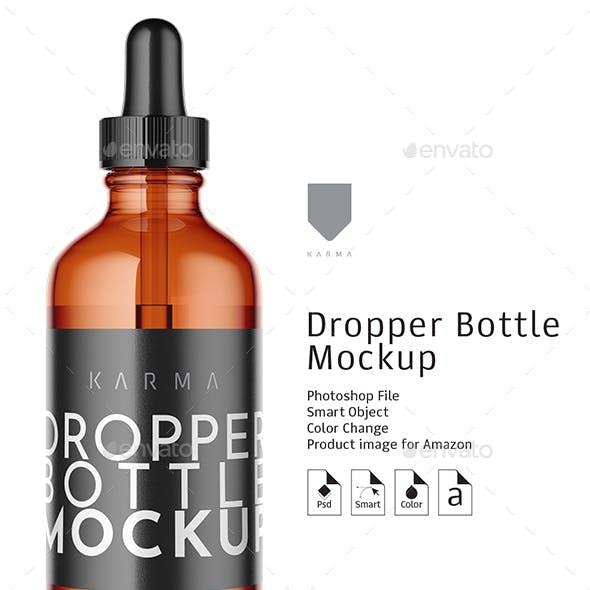 Dropper Bottle Mockup 4