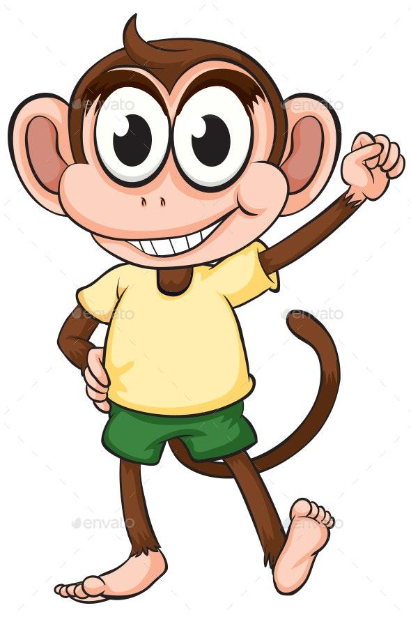 Funny Monkey - Animals Characters