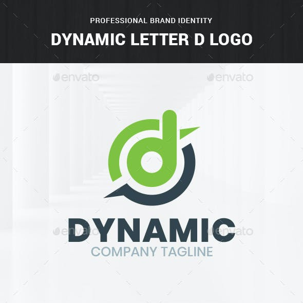 Dynamic - Letter D Logo Template