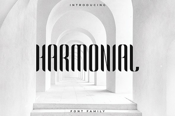 Harmonial Font Family - Sans Serif - Sans-Serif Fonts