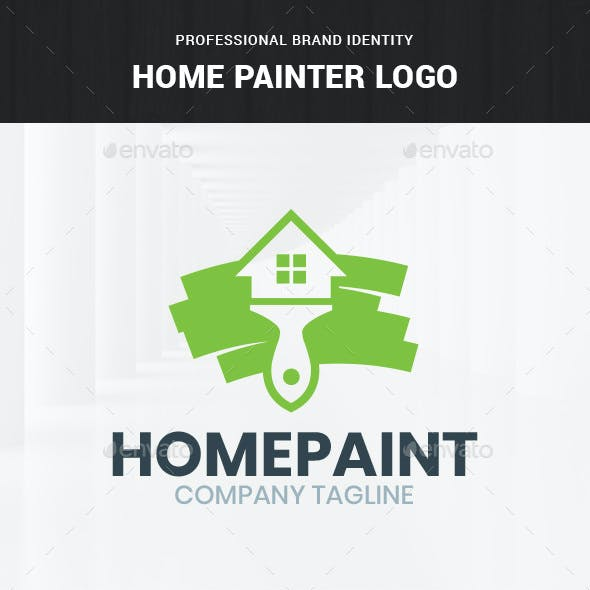 Home Painter Logo Template