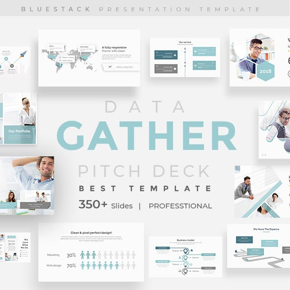 Gather Data Pitch Deck Google Slide Template